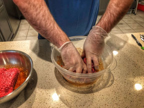 how-to-make-beef-jerky-mixing-the-meat-and-spices