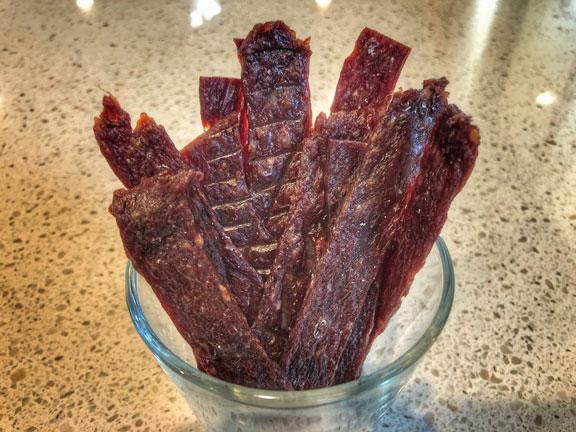 Garlic-Molasses-Beef-Jerky