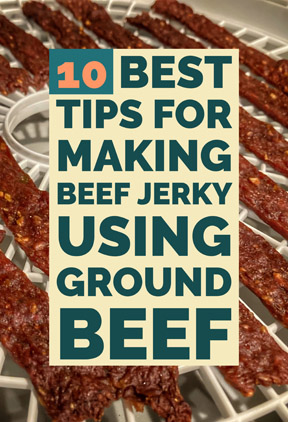 10 Best Tips for Making Beef Jerky Using Ground Beef
